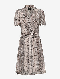 Taylor Dress - wrap dresses - snake