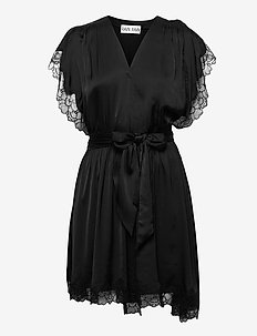 SELENA DRESS - nachtjurken - black