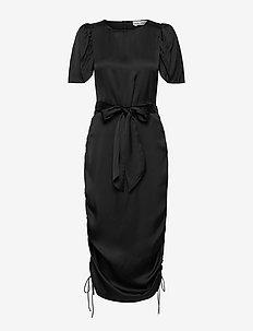 FRIDA DRESS - stramme kjoler - black