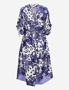 MACI COVER-UP - summer dresses - holiday paisley purple