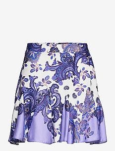 CASSIE SKIRT - short skirts - holiday paisley purple