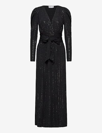Tuesday Dress - kveldskjoler - black sequin