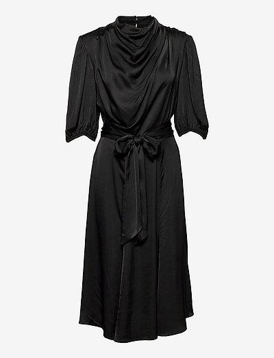 VALENTINA DRESS - cocktail-kjoler - 001 black
