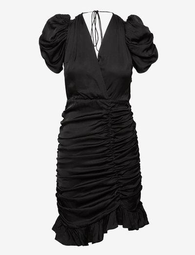 OLIVE DRESS - festkjoler - 001 black