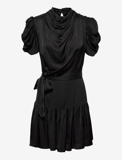 OCEAN DRESS - cocktail-kjoler - 001 black