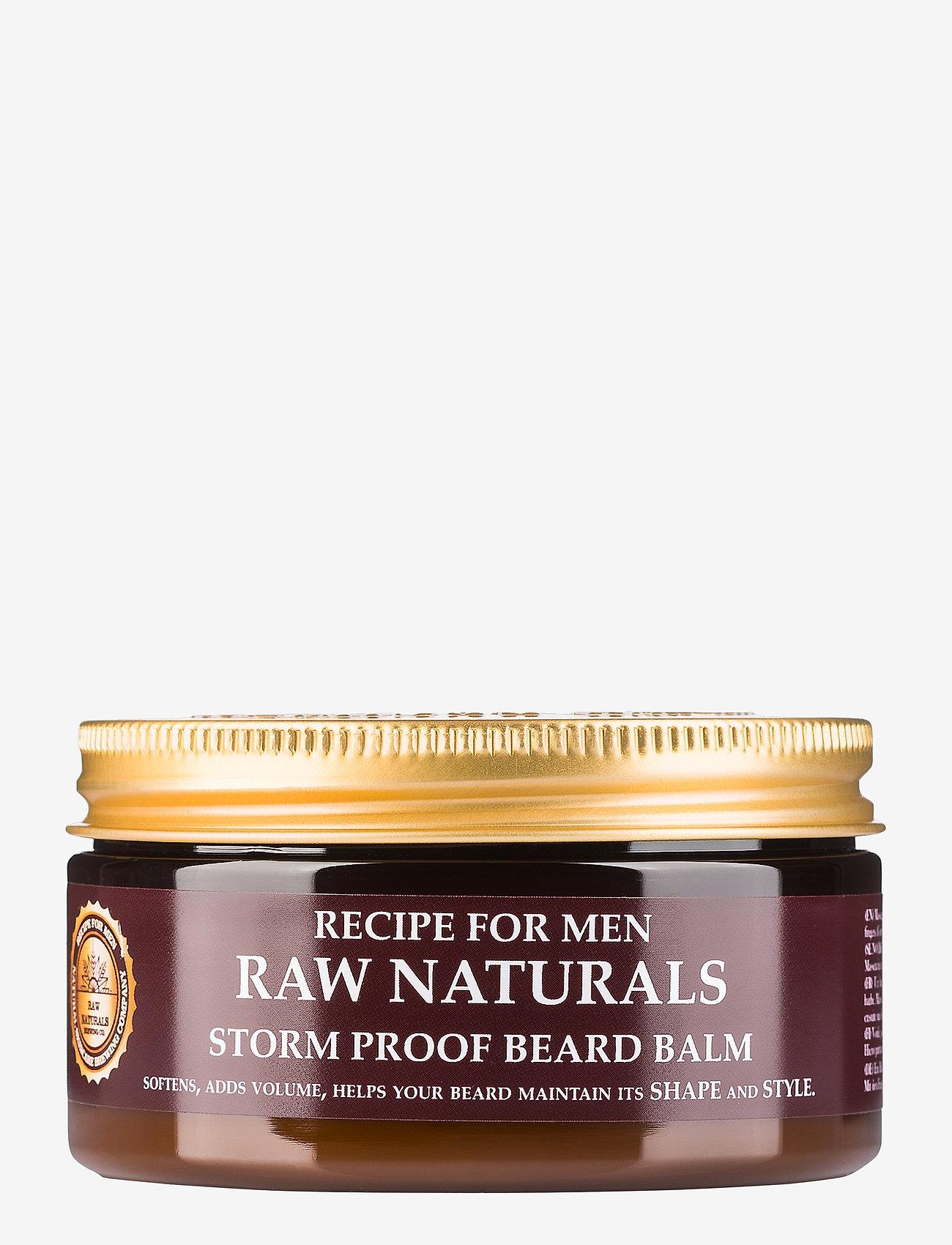 Raw Naturals Brewing Company - Storm Proof Beard Balm - skægolie - clear - 0