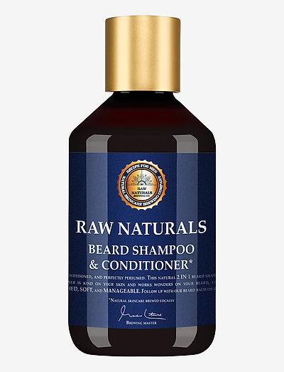 Beard Shampoo & Conditioner - skägg & mustasch - clear