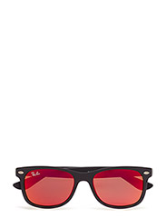 NEW WAYFARER JUNIOR - MATTE BLACK-RED MULTILAYER