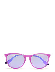 NEW WAYFARER JUNIOR - VIOLET FLUO TRASP RUBBER-GREY MIRROR VIOLET