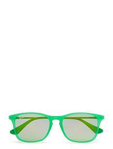 CHRIS JUNIOR - GREEN FLUO TRASP RUBBER-LIGHT GREEN MIRROR GREEN