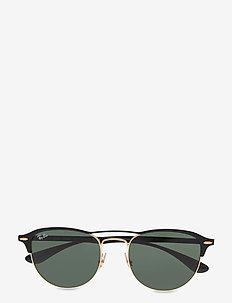 0RB3596 - okulary przeciwsłoneczne w kształcie litery d - gold top on matte black