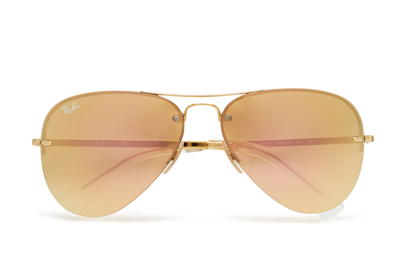 Aviator (Gold-light Brown Mirror Pink) (162 €) - Ray-Ban ...