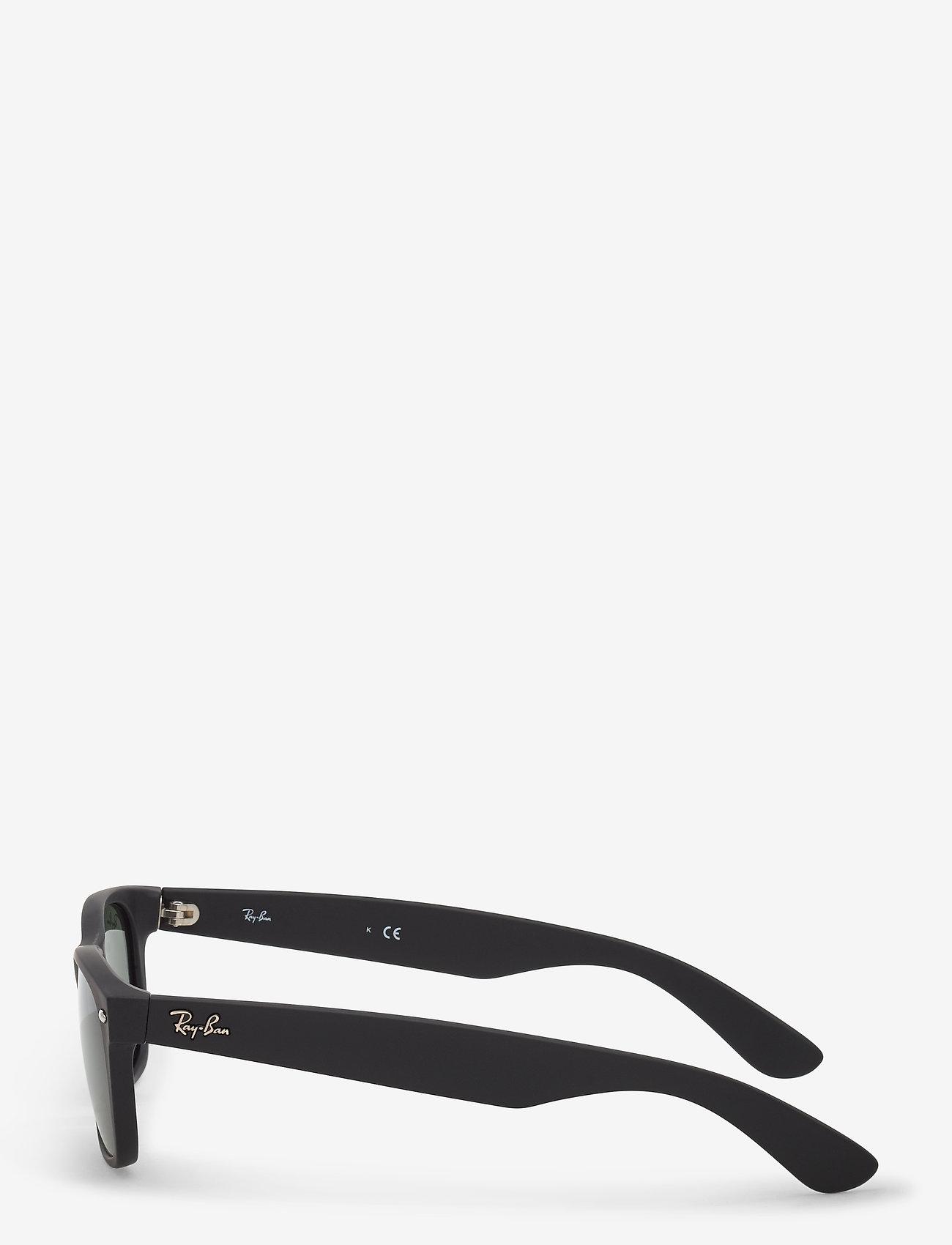 Ray-Ban NEW WAYFARER - Okulary przeciwsłoneczne BLACK RUBBER - Akcesoria