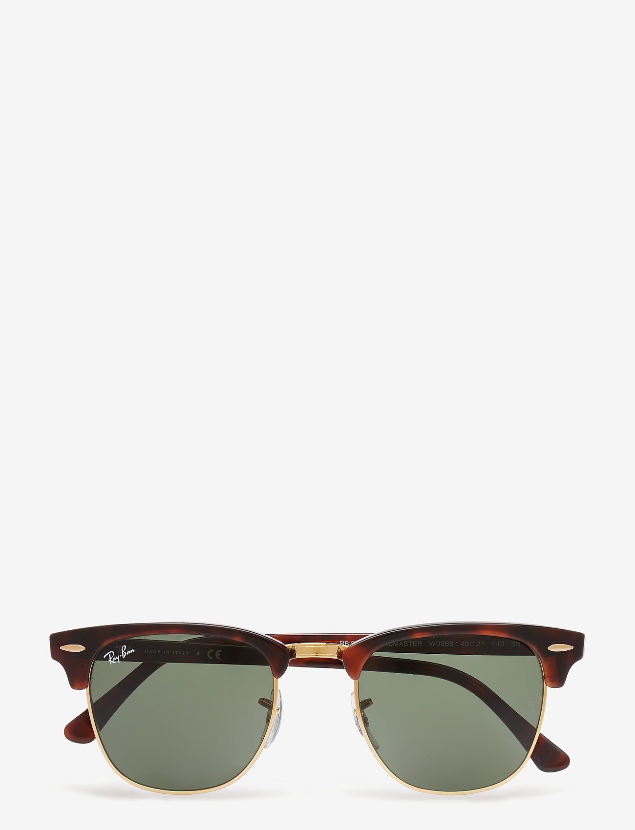 Ray-Ban - CLUBMASTER - d-shaped - mock tortoise/ arista