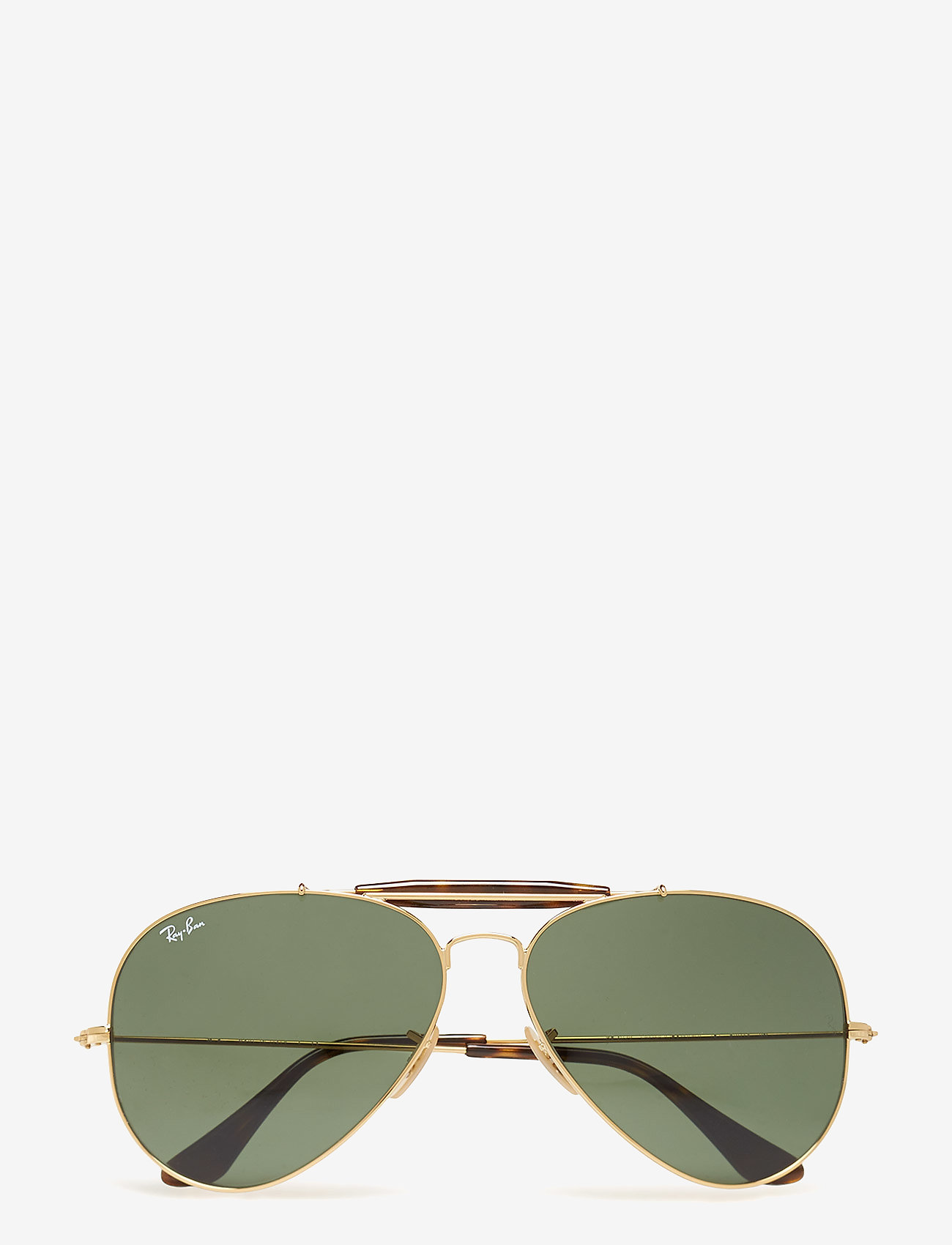Ray-Ban - OUTDOORSMAN II - piloten zonnebril - gold-dark green - 0