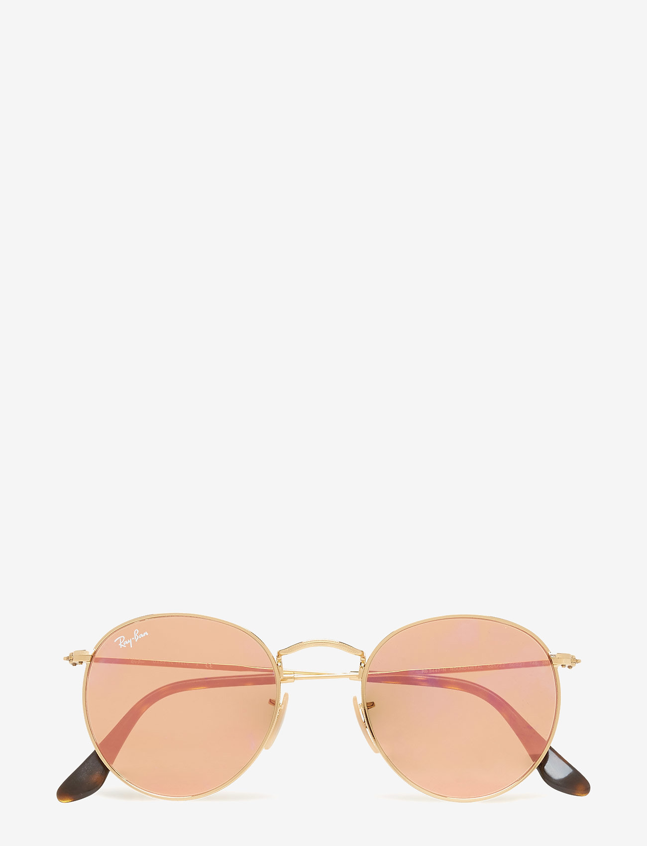 Ray-Ban - ROUND METAL - ronde zonnebril - shiny gold - 0