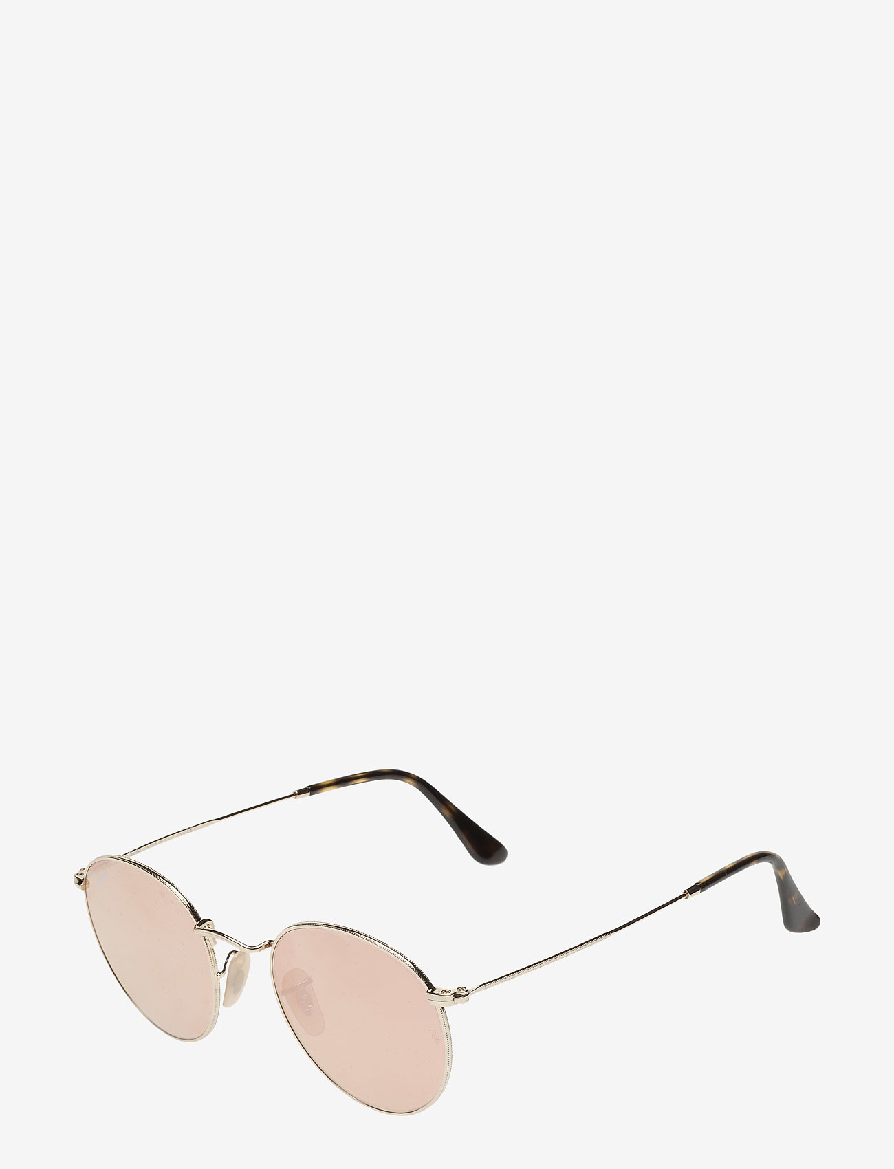 Ray-Ban - ROUND METAL - ronde zonnebril - shiny gold - 1