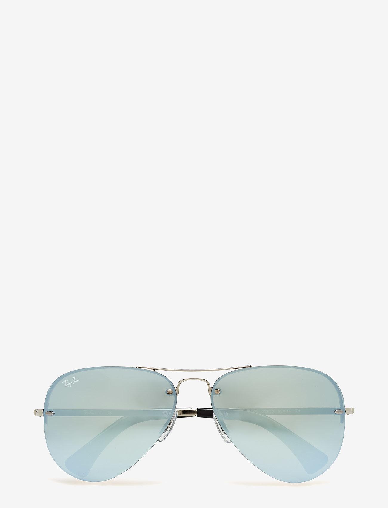 Ray-Ban - Aviator - piloten zonnebril - silver-green mirror silver - 0