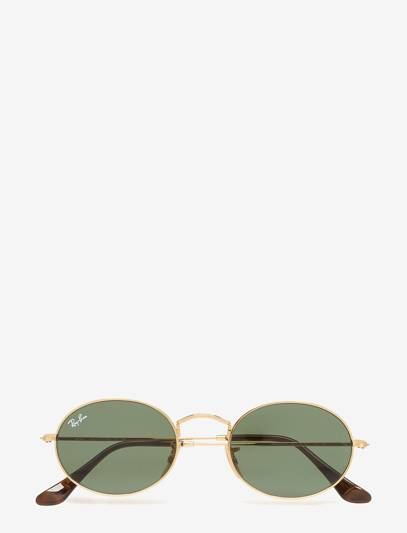Ray-Ban - ICONS - ronde zonnebril - gold/green - 0