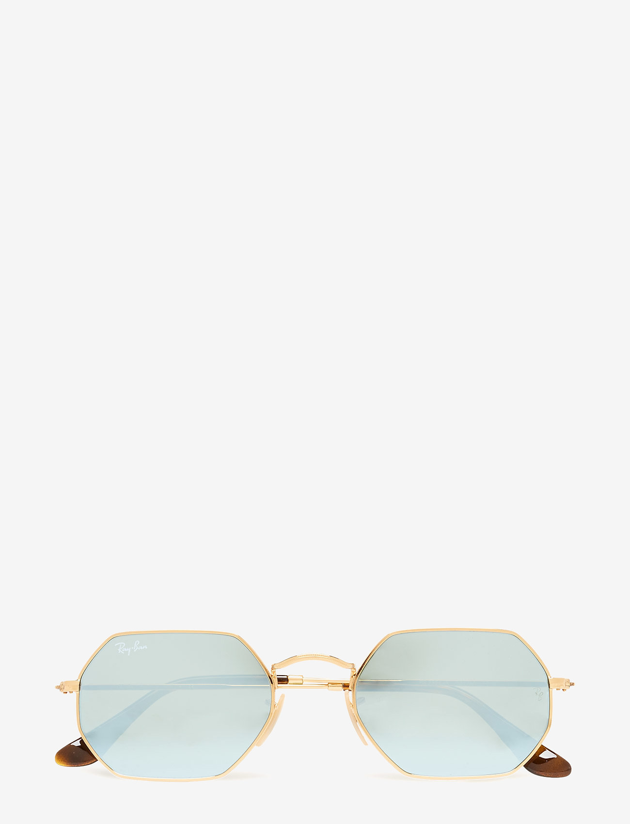 Ray-Ban - 0RB3556N - round frame - gold multi - 0