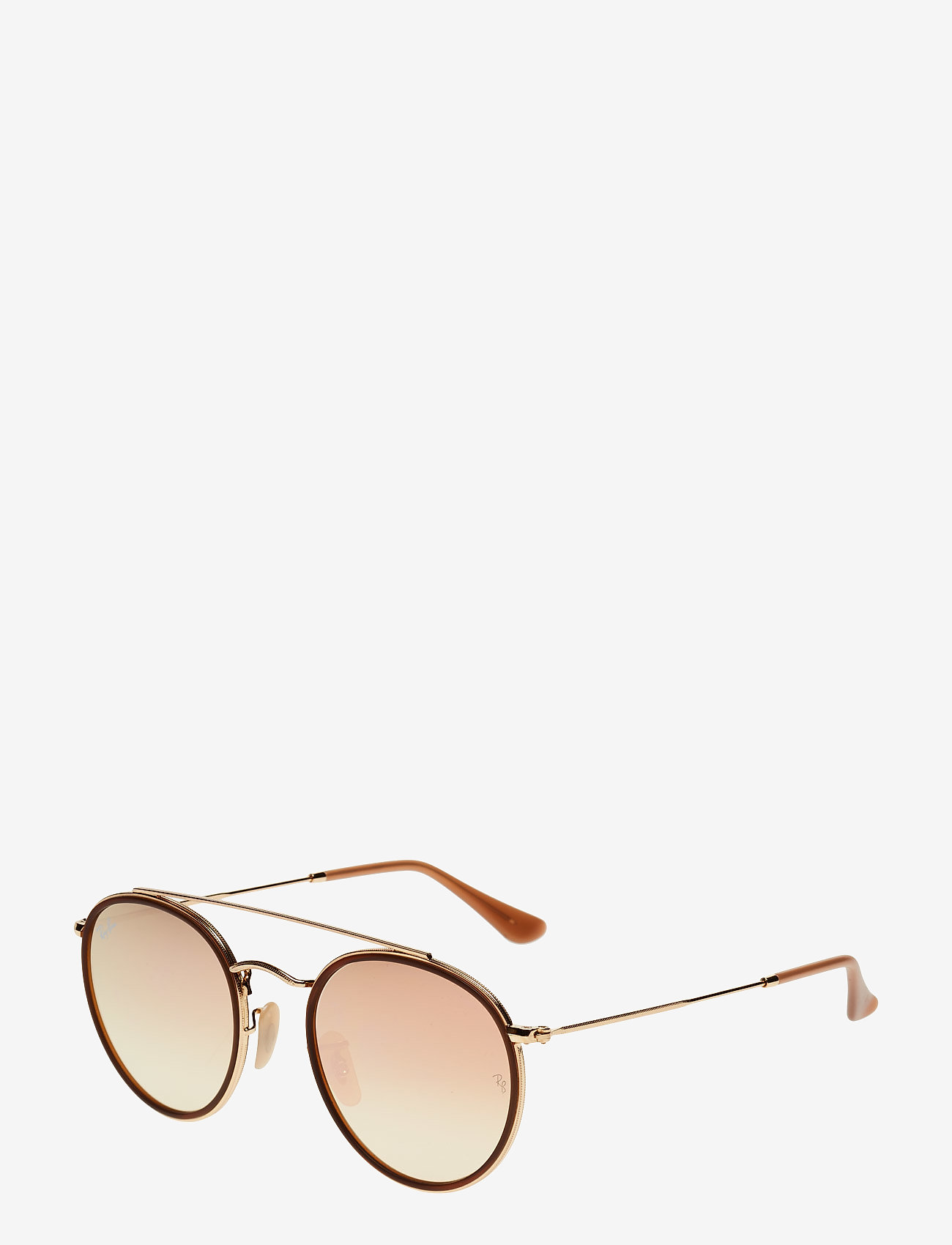 Ray-Ban - 0RB3647N - rund ramme - gold - 1