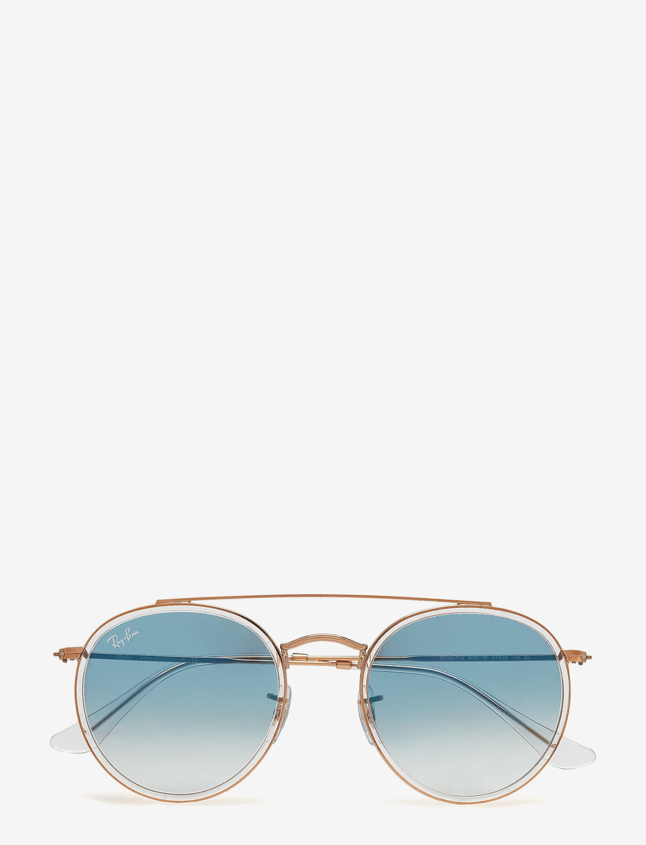 Ray-Ban - 0RB3647N - round frame - trasparent - 0