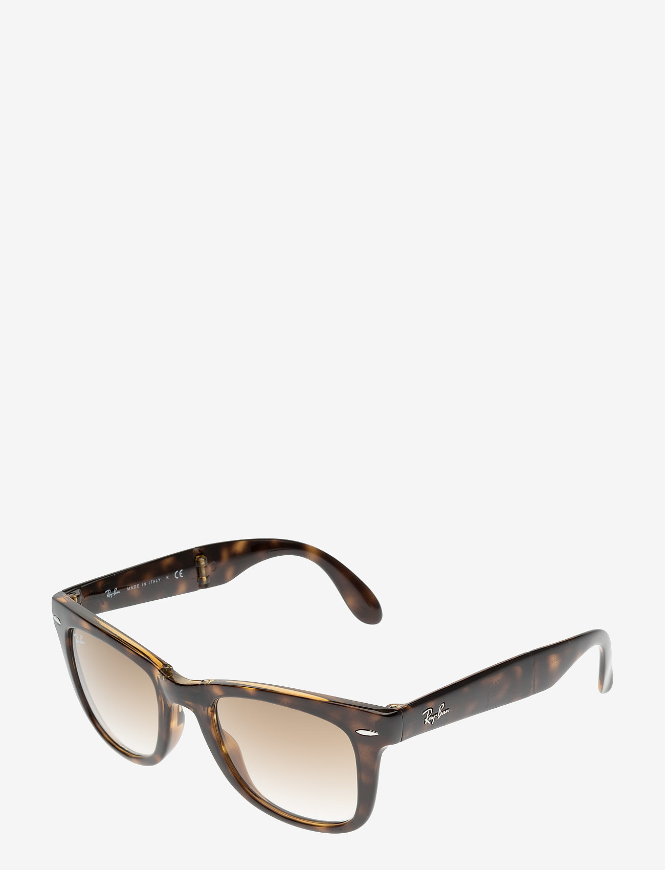 Ray-Ban - FOLDING WAYFARER - d-shaped - light havana - 1
