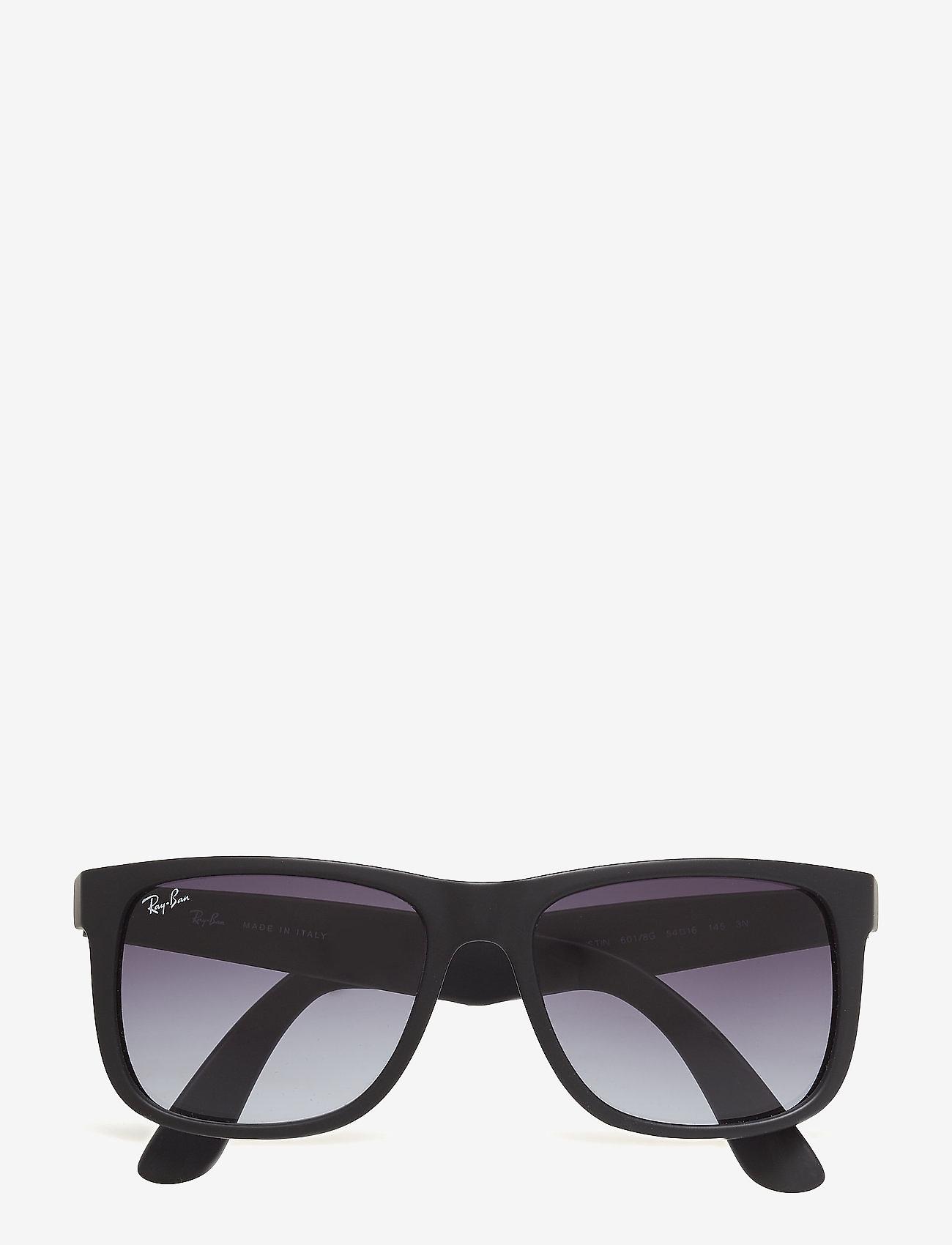 Ray-Ban - JUSTIN - okulary przeciwsłoneczne w kształcie litery d - rubber black - 0