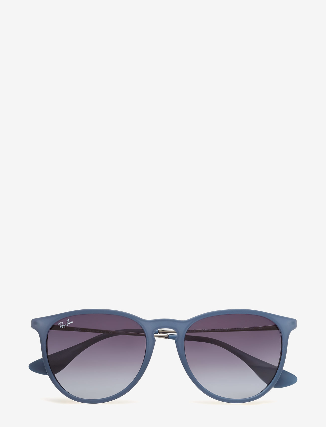 Ray-Ban - ERIKA - rond model - rubber blue - 0