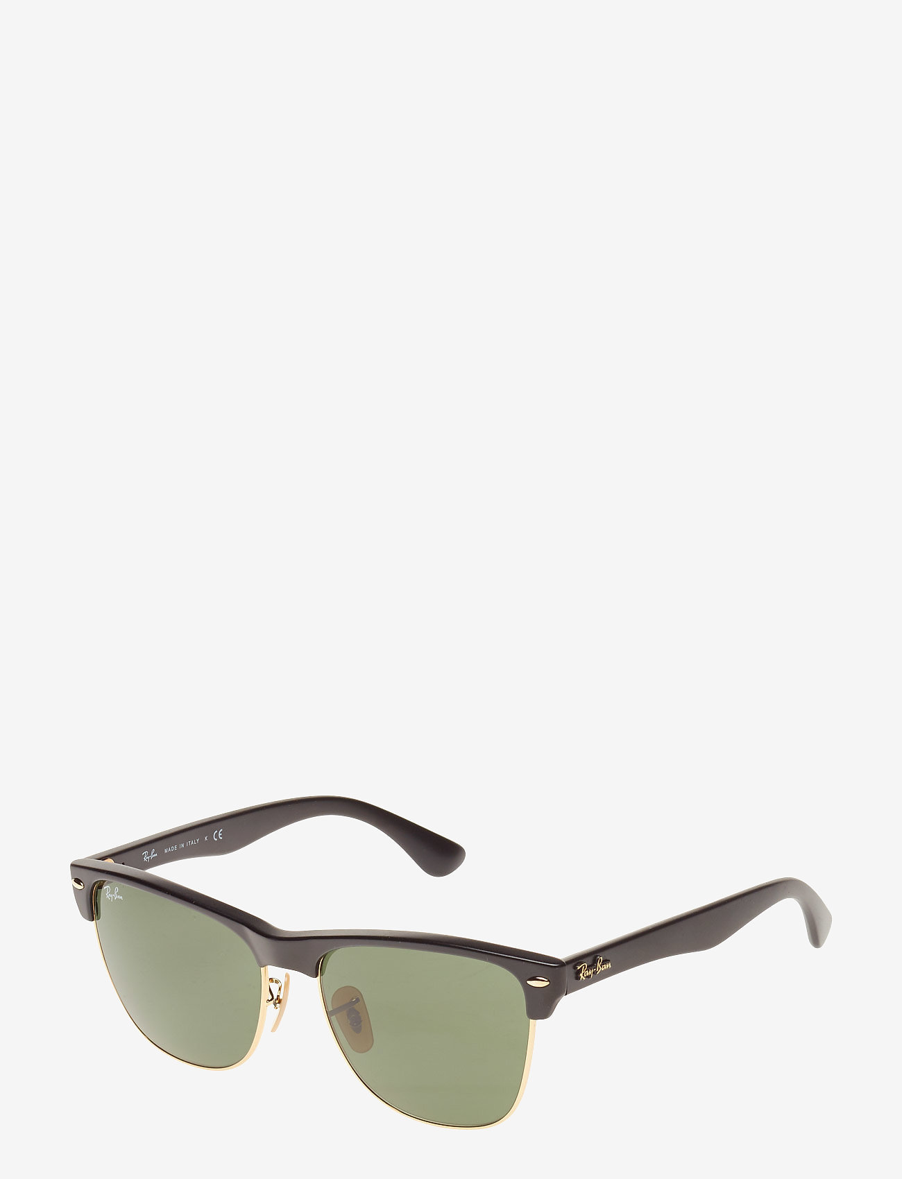Ray-Ban - CLUBROUND - ronde zonnebril - black - 1