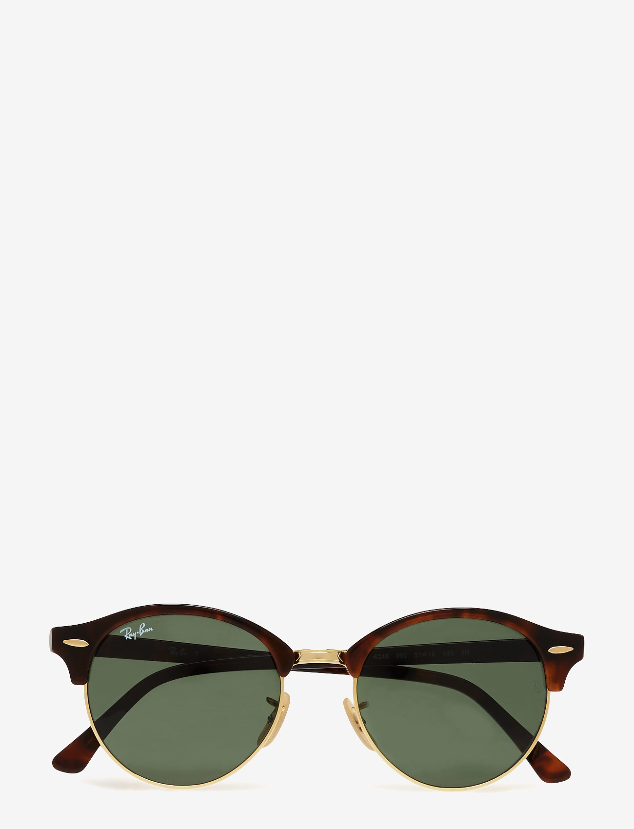 Ray-Ban - CLUBROUND - ronde zonnebril - red havana - 0