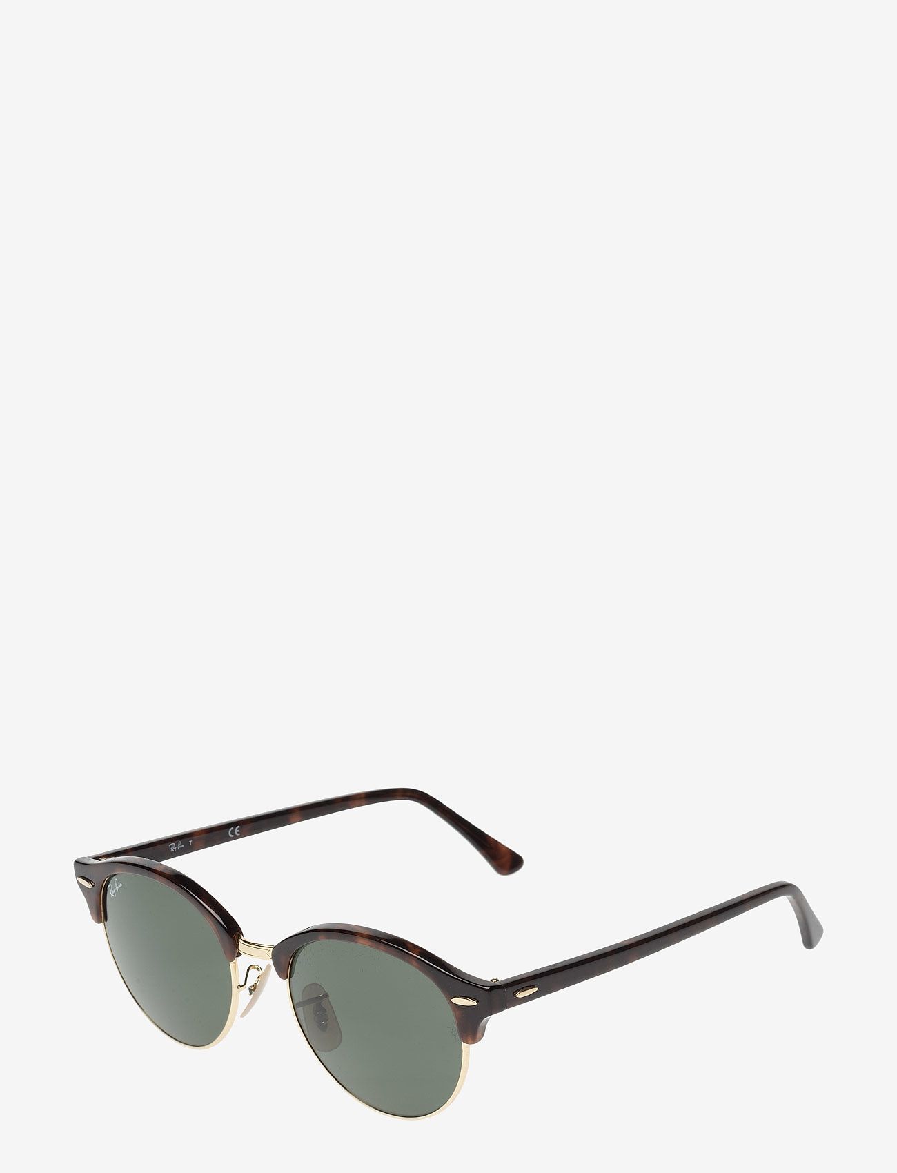 Ray-Ban - CLUBROUND - ronde zonnebril - red havana - 1