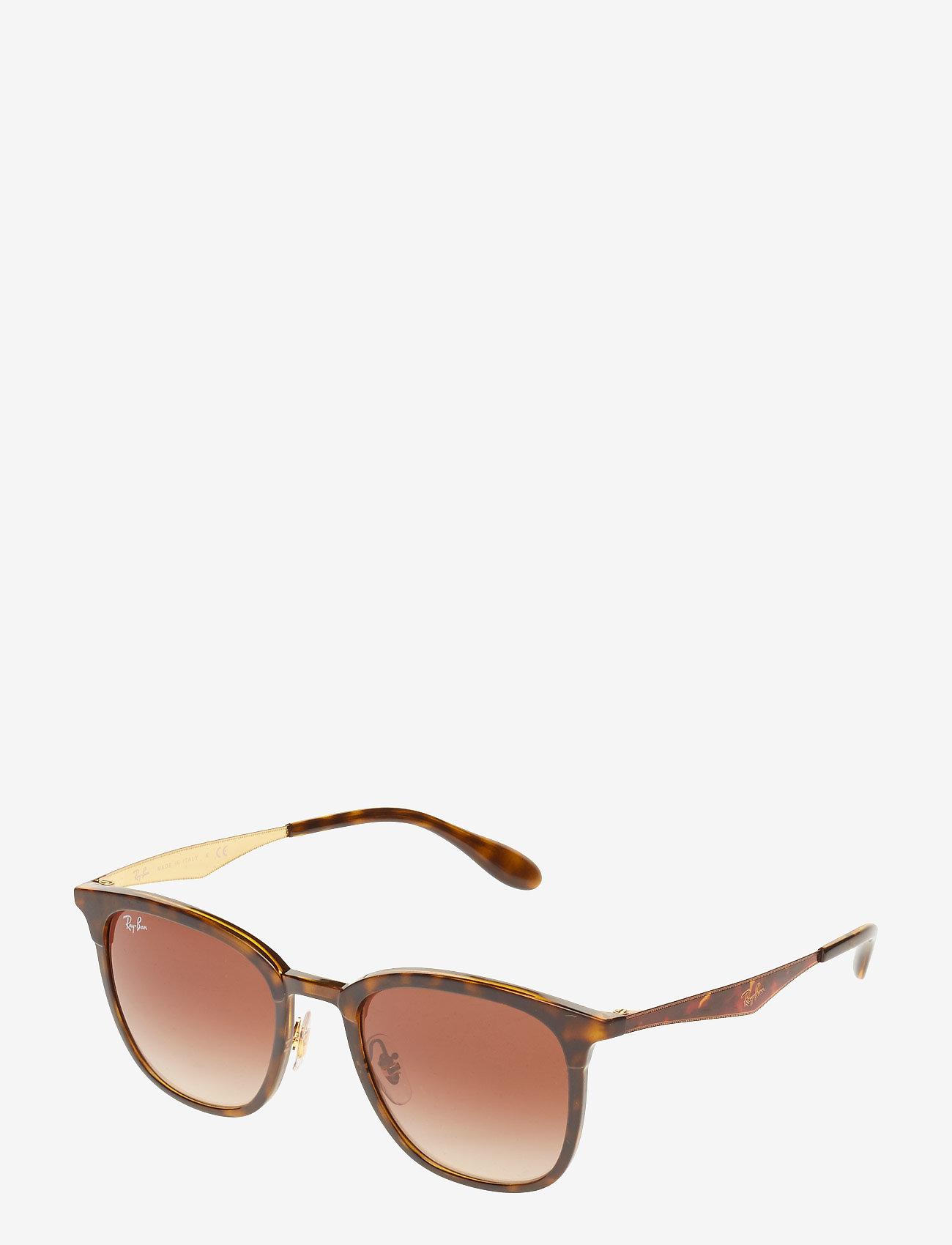 Ray-Ban - 0RB4278 - d-vormige zonnebril - havana/matte havana - 1