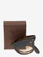 Ray-Ban - FOLDING WAYFARER - d-shaped - light havana - 3