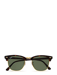 CLUBMASTER - MOCK TORTOISE/ ARISTA-CRYSTAL GREEN