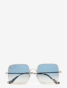 Ray-Ban Sunglasses - okulary przeciwsłoneczne prostokątne - silver