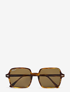 Ray-Ban Sunglasses - firkantet stel - stripped havana
