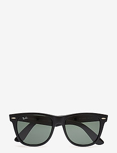 WAYFARER - d-shaped - black-crystal green