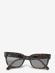 JEFFREY - okulary przeciwsłoneczne w kształcie litery d - dark grey
