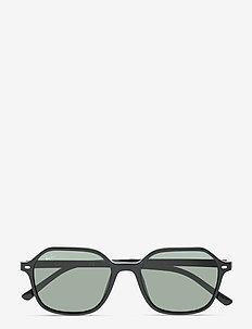 JOHN - ronde zonnebril - g-15 green