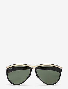 Ray-Ban Sunglasses - d-shaped - black