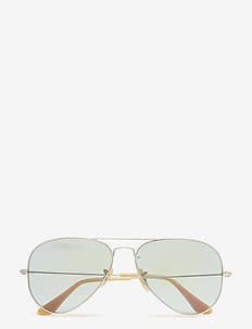 AVIATOR LARGE METAL - SILVER