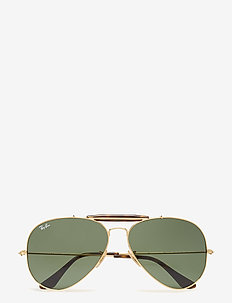 OUTDOORSMAN II - pilottilasit - gold-dark green