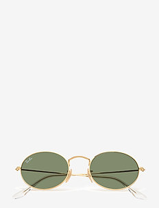 Ray-Ban Sunglasses - round frame - gold