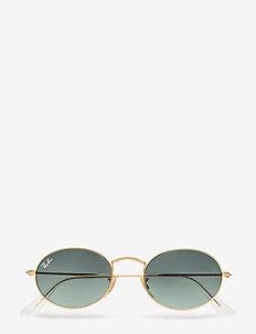 Ray-Ban Sunglasses - okrągłe okulary przeciwsłoneczne - gold