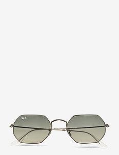 Round frame - okulary przeciwsłoneczne okrągłe - gunmetal