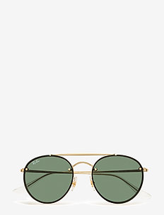 Ray-Ban Sunglasses - round frame - demi gloss gold