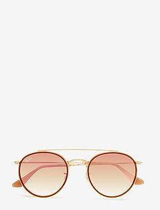 0RB3647N - ronde zonnebril - gold