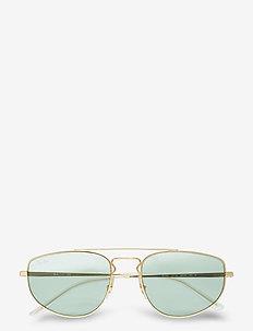Sunglasses - pilot - evolve photo green to blue