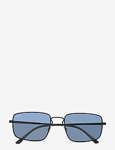 Sunglasses - d-shaped - dark blue